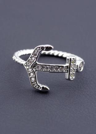 Кольцо 'xuping' фианит (родий) 0466400
