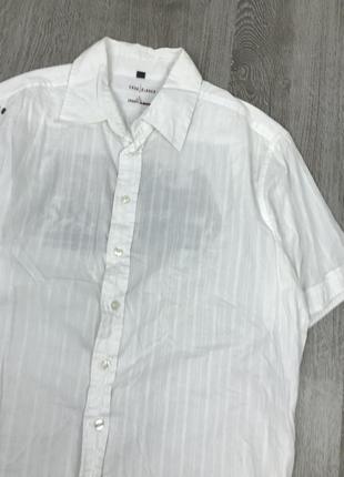 Крутая белоснежная рубашка