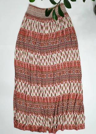 ❤️длинная юбка в принт