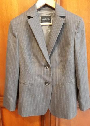 Andiata люкс бренд новый шерстяной жакет#пиджак#блейзер, шерсть.