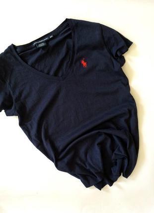 Крутая актуальная футболка ralph lauren хлопок хлопковая