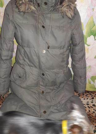 Куртка пальто теплое