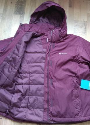 2xl, 56 оригинал куртка columbia деми