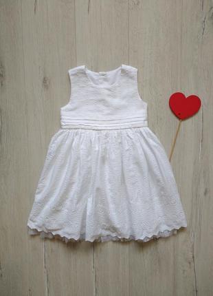 1,5-2 года, платье m&s.