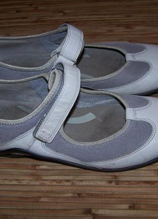 Балетки,туфли ecco кожа 39