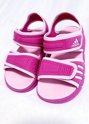 Adidas босоножки аквашузы на девочку