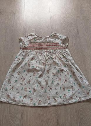 Легкое летнее платье от next