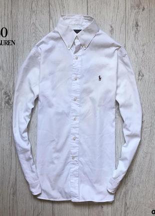 Мужская рубашка ralph lauren polo - оригинал, как новая!