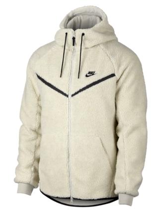 Толстовка мужская nike sportswear windrunner tech fleece sherpa hoodie