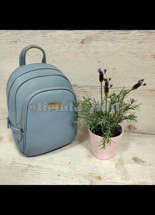 Стильный полуспортивный рюкзак david jones  cm3933t голубой