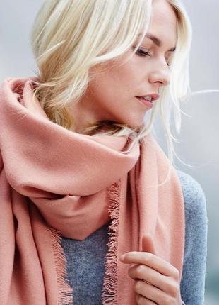 Красивый шарф, шаль 200*100 tcm tchibo германия, палантин