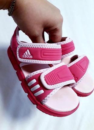 Босоножки аквашузы на девочку adidas