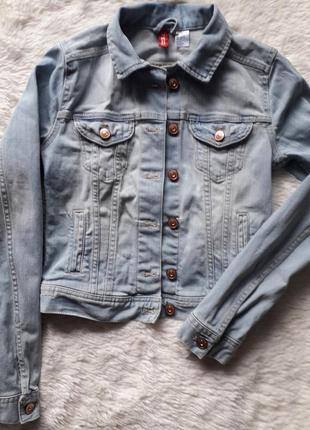 Отличная джинсовая куртка для девочки