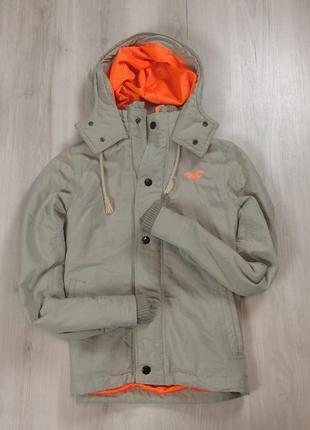 Ветровка hollister куртка легкая бежевая холлистер мужская