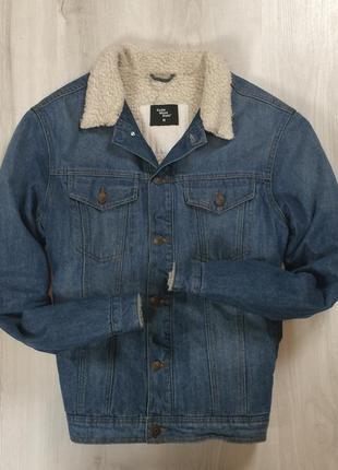 Утепленная джинсовка cws cedarwood state джинсовая куртка мужская