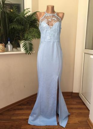 Красивое выпускное нарядное платье