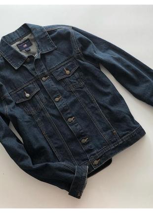 Мужская джинсовая куртка джинсовка polo pp л