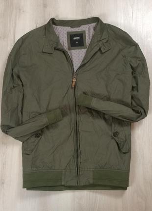 Харик burton бартон оливковая легкая куртка мужская