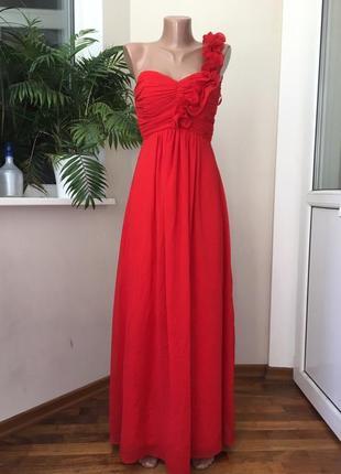 Выпускное нарядное платье в пол