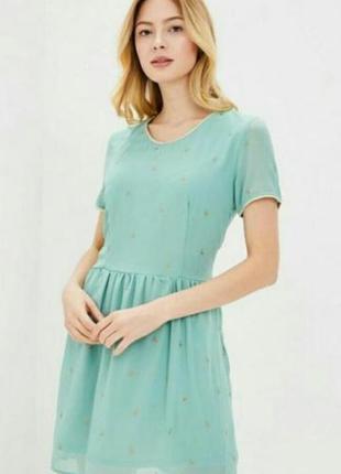 Летнее новое платье с открытой спиной