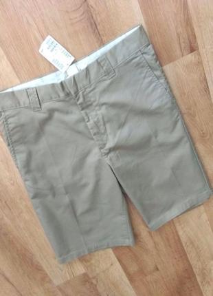 Новые с бирками мужские брендовые шорты - чиносы