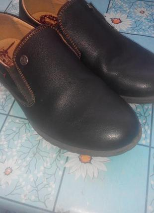 Черные туфли 381 фото
