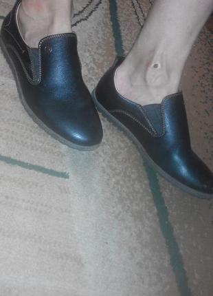 Черные туфли 383 фото