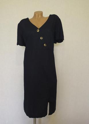 Стильное льняное платье marks & spencer