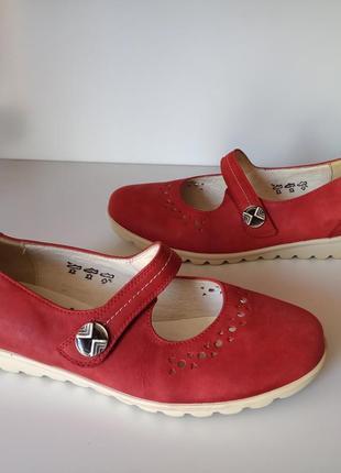 Кожаные туфли waldaufer