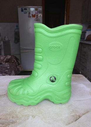 Сапоги дождевики crocs дощові чоботи оригінал сша