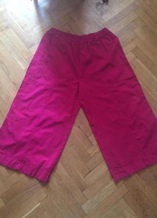 Тренд 2019,летние кюлоты ,укороченные брюки,хлопок от бренда  consequent