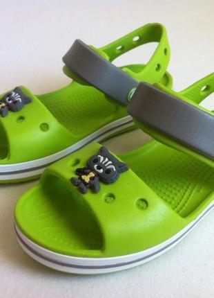 Как новые ❗босоножки, сандалии crocs crocband☀️😎 размер с 11 (27-28) оригинал ❗❗❗