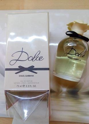 🌺оригинал 🌺75 мл dolce&gabbana dolce парфюмированная вода