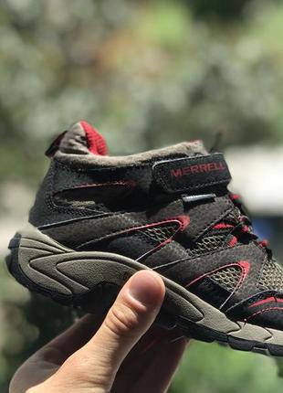 Merrell waterproof демисезонные трекинговые ботинки