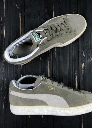 Мужские кеды кроссовки puma suede x liga x faas оригинал размер 40.5