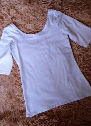 Базовая белая футболкаc&a