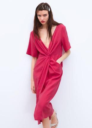 Шикарное платье миди от lindex