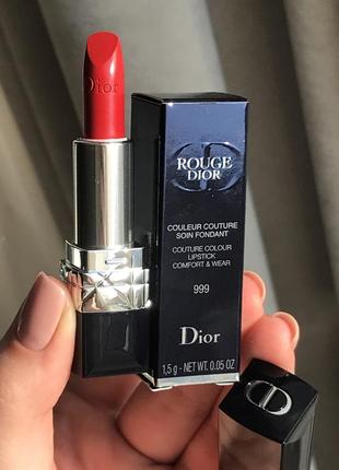 Dior couture colour помада 999 оригинал