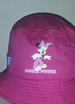 Коттоновая шляпка девочке