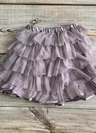 Нарядная юбка vinyl fraise 8 лет, р.128см