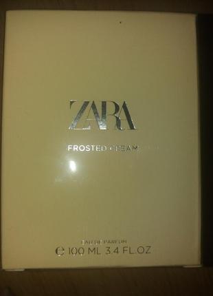Вода парфумована zara frosted cream