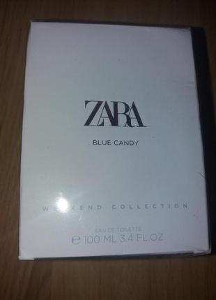 Вода туалетна  zara blue candy