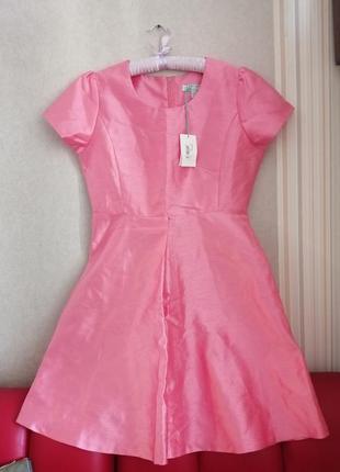 Розовое платье, летнее платье