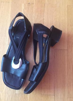 Босоножки сандали rieker кожа 38 размер