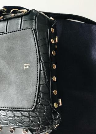 Сумка кроссбоди trussardi jeans3 фото