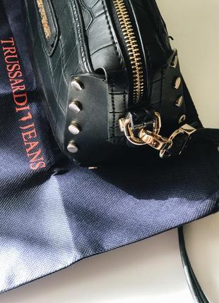 Сумка кроссбоди trussardi jeans4 фото