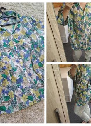 Мега лёгкая, нежная катоновая блуза рубашка, charles voegele, p. 52-54