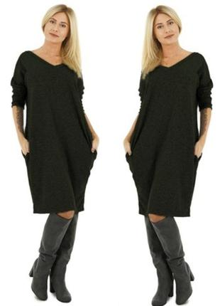 Платье, туника в стиле oversize.