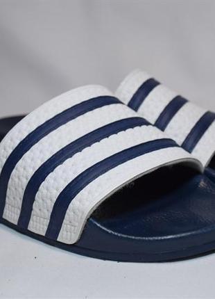 Шлепанцы сланцы adidas originals slippers adilette. италия. оригинал.