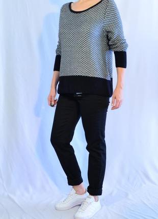 2174\80 черно-белый свитер next xxxl